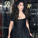 Sarah Silverman in Black Dress out in New York - 454 x 627
