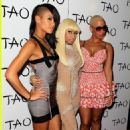Amber Rose attends Nicki Minaj's 26th Birthday Party at Club Tao in Las Vegas, Nevada - December 9, 2010 - 454 x 699