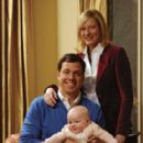 Jack Tapper and wife Jennifer With Their Baby