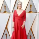 Meryl Streep in Dior Dress : 90th Annual Academy Awards - Red Carpet