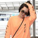 Jessie J at Narita International Airport in Tokyo - 454 x 720