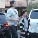Shannen Doherty Leaves Ollo Restaurant in Malibu