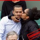 Jesse Williams With Fiancee Arin - 454 x 330