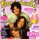 Esteban Prol, Florencia Bertotti, Fabio Di Tomaso - Floricienta Magazine Cover [Argentina] (March 2005)