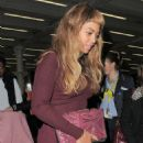 Beyonce Arriving In London