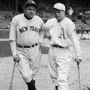 Babe Ruth & Jimmie Foxx