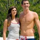 Michael Phelps and Stephanie Rice