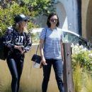 Nina Dobrev in Jeans out in LA - 454 x 583
