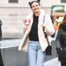 Victoria Justice – Out and About During New York Fashion Week, February 2017 - 454 x 708