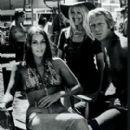 Barbara Leigh and Steve McQueen