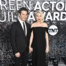Thomas Kail and Michelle Williams At The 26th Annual Screen Actors Guild Awards (2020) - 400 x 600