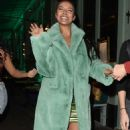 Maya Jama – Leaves S*** Fish restaurant in Mayfair - 454 x 785