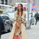 Joan Smalls – Doing a photoshoot in New York - 454 x 666