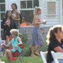 Sailor Brinkley Cook in Bikini Top out in the Hamptons - 454 x 303