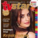 Penélope Cruz - TV Star Magazine Cover [Czech Republic] (3 January 2014)