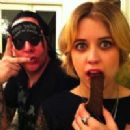 Peaches Geldof and Marilyn Manson