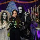 Vanessa Hudgens – Knott's Scary Farm in LA
