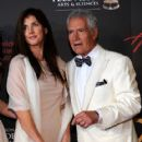 Alex Trebek and Jean Currivan - 418 x 594