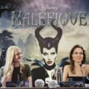 Elle Fanning & Angelina Jolie - Maleficent Paris Photocall & Press Conference (May 06, 2014)