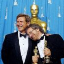 Harrison Ford and Steven Spielberg - The 66th Annual Academy Awards - Press Room (1994)