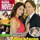 Guy Ecker, Blanca Soto, Eva Luna - Tele Novela Magazine Cover [Spain] (2 October 2011)