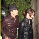 Ashley Greene and Ian Somerhalder
