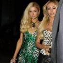 Paris Hilton, Petra Ecclestone leaving Boa Steakhouse in West Hollywood