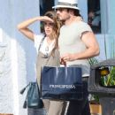 Nikki Reed and Ian Somerhalder out in Venice - 454 x 735