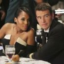 Kerry Washington and Scott Foley