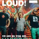 Mastodon - Loud Magazine Cover [Portugal] (July 2014)