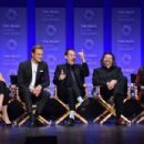Caitriona Balfe, Sam Heughan, Tobias Menzies, Ronald D. Moore and Diana Gabaldon -March 12, 2015-Inside the PALEYFEST 'Outlander' Panel - 454 x 302