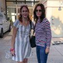 Courteney Cox – Shopping at Club Monaco