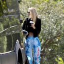 Stella Maxwell – Heads Out for a Coffee in Los Angeles