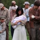 Selena Gomez On Set Of In Dubious Battle In Bostwick