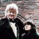 Jon Pertwee as the third incarnation of The Doctor and Elisabeth Salden as Sarah Jane Smith in the science-fiction series Doctor Who (1970-1974)