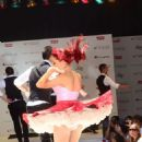 Ariana Grande performed at at the Macy's Annual Summer Blowout show, July 17. The Victorious star sang at Herald Square in New York City