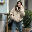 Tini Stoessel – Out in Madrid - 454 x 681