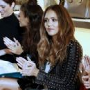 Jessica Alba : TRESemme at Rebecca Minkoff NYFW SS18