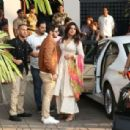 Priyanka Chopra and Nick Jonas – Arriving at the Mumbai Airport