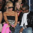 Amber Rose and Kayne West attend the Stella McCartney Ready-to-Wear A/W 2009 fashion show during Paris Fashion Week at Carreau du Temple in Paris, France -  March 9, 2009 - 420 x 594