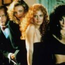 Jack Nicholson, Cher, Susan Sarandon And Michelle Pfeiffer In The Witches Of Eastwick (1987)