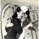 Tommy Manville greets Elinor Troy 1939