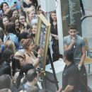 AUG 02ND - BUSKING AT WESTFIELD SHOPPING CENTRE