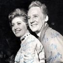 Van Johnson and Patricia Lambert In The 1962 London Production Of THE MUSIC MAN - 311 x 400
