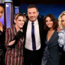 Ella Balinska, Kristen Stewart, Jimmy Kimmel, Naomi Scott and Elizabeth Banks – Visits Jimmy Kimmel Live! in Hollywood