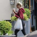 Dove Cameron in Tights – Grabs a coffee in Los Angeles - 454 x 568
