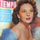 Susan Hayward - Tempo Magazine Cover [Italy] (31 May 1956)