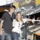 Molly Burnett and Casey Deidrick
