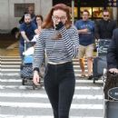 Sophie Turner – Arrives at LAX Airport in Los Angeles July 12, 2017