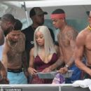 Blac Chyna and Mechie Celebrate Labor Day at a Yacht Party in Miami, Florida - September 4, 2017